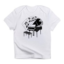Funny Piano Infant T-Shirt