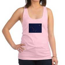 Flag of Alaska Racerback Tank Top