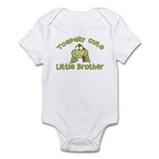 Toadally Cute Little Brother Infant Bodysuit