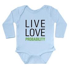 Probability Long Sleeve Infant Bodysuit