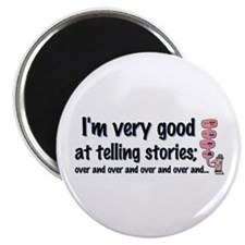 Telling Stories Magnet
