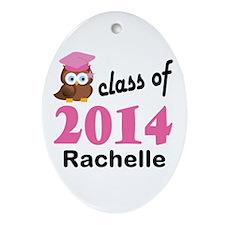 Class Of 2014 custom Ornament (Oval)