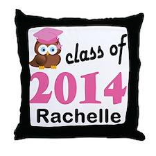 Class Of 2014 custom Throw Pillow
