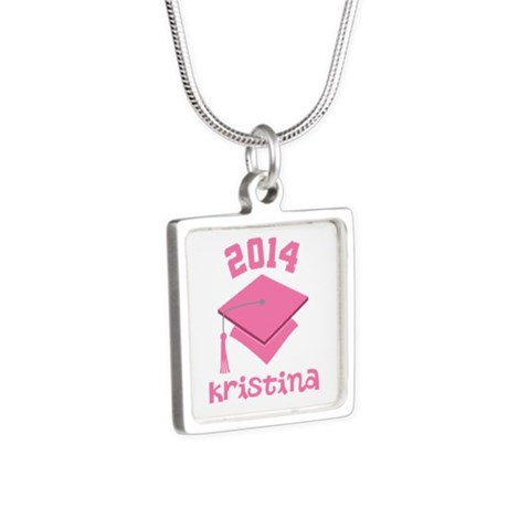 Class of 2014 Graduation (pink) Necklaces