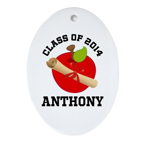 Class of 2014 school Ornament (Oval)