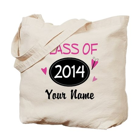 Personalized Class Of 2014 Tote Bag