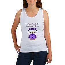 I Wear Purple Tank Top