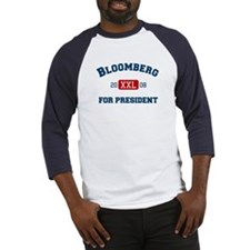 Michael Bloomberg for President Baseball Jersey