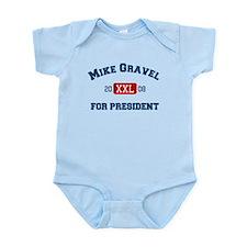 Mike Gravel for President Infant Bodysuit