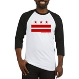 Washington DC Flag Baseball Jersey