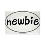 Newbie Rectangle Magnet