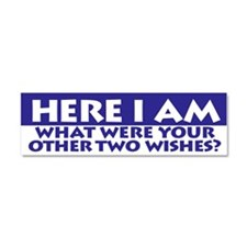 Here I Am Car Magnet 10 X 3