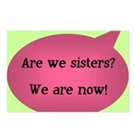 Are we sisters? Postcards (Package of 8)