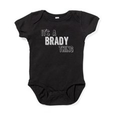 Its A Brady Thing Baby Bodysuit