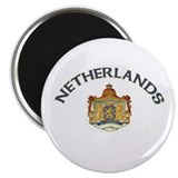 "Netherlands Coat of Arms 2.25"" Magnet (100 pack)"