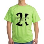 Born To Be 21 Green T-Shirt