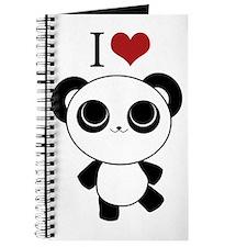 I love panda Journal