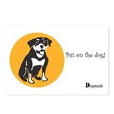 Rottweiler Postcards (Package of 8)