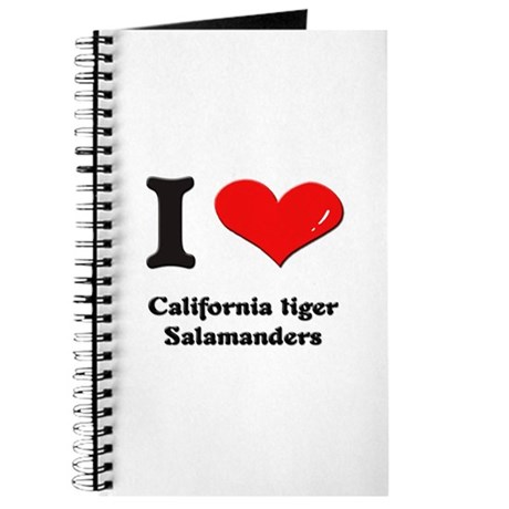I love california tiger salamanders Journal