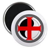 CIRCLE CROSS MAGNET