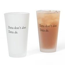 Data Do Drinking Glass