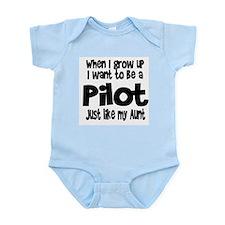 WIGU Pilot Aunt Infant Bodysuit