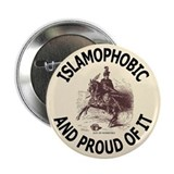 Islamophobe Button
