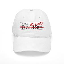 Job Dad Banker Baseball Cap