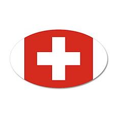 Flag of Switzerland Wall Sticker