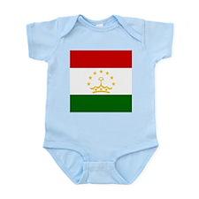 Flag of Tajikistan Body Suit