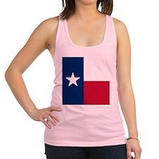 Flag of Texas Racerback Tank Top