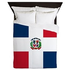 Flag of the Dominican Republic Queen Duvet