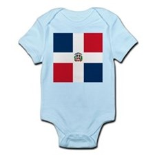 Flag of the Dominican Republic Body Suit