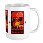 Obey the Papillon! Large Mug
