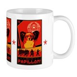 Obey the Papillon! Small Mugs