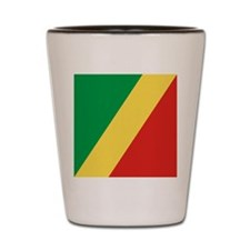 Flag of the Republic of the Congo Shot Glass