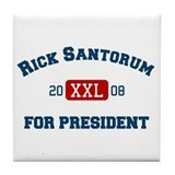 Rick Santorum for President Tile Coaster