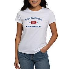 Rick Santorum for President Tee