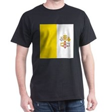 Flag of Vatican City T-Shirt