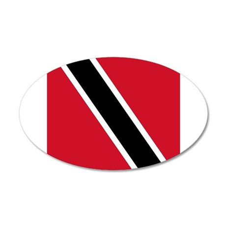 Flag of Trinidad and Tobago Wall Sticker