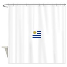 Flag of Uruguay Shower Curtain
