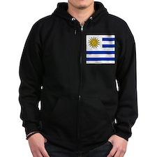 Flag of Uruguay Zip Hoody