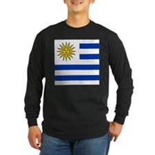 Flag of Uruguay Long Sleeve T-Shirt
