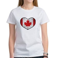 Canadian Heart Tee