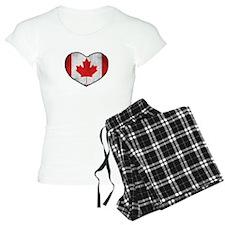 Canadian Heart Pajamas