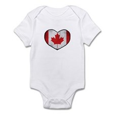 Canadian Heart Infant Bodysuit