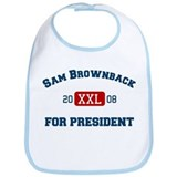 Sam Brownback for President Bib