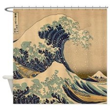 Japanese Great Waves Shower Curtain