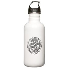 Traditional Gray Stainless Water Bottle 1.0l