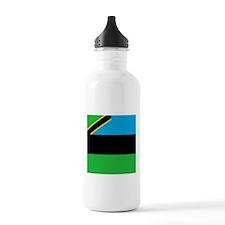 Flag of Zanzibar Sports Water Bottle